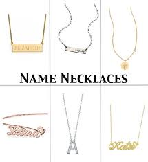 necklace with your name name necklaces archives julie