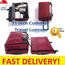 lightest cabin bag qoo10 travel luggage bag wallet