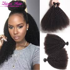 weave on short afro hair 4pcs malaysian afro kinky curly virgin hair 7a unprocessed