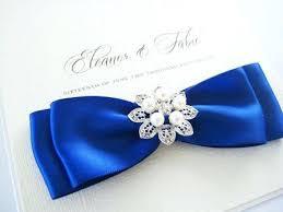 royal blue ribbon awesome royal blue ribbon wedding invitations for wedding