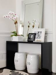 console table decor ideas 33 ideas to use console tables in interior decorating shelterness