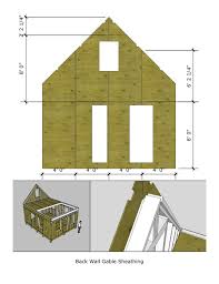 pioneers cabin 16x20 tiny house design v2 front wall framing