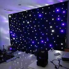 wedding event backdrop aliexpress buy 4 meter x 4 meter led starlight backdrop