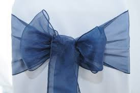navy blue chair sashes co ordinating sashes chair covers of hshire
