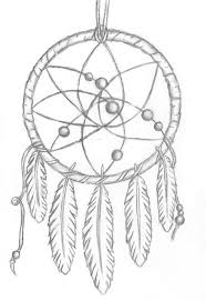 coloring pages dream catchers