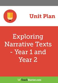 exploring narrative texts unit plan year 1 and year 2 unit plan