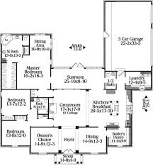 colonial style house plan 3 beds 2 50 baths 3084 sq ft plan 406 125