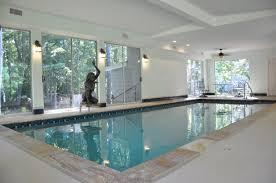 Indoor Pool Design Contemporary Residential Indoor Pool On Design
