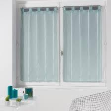 voilage cuisine voilage et vitrage uni pour apporter de la légèreté à vos fenêtres