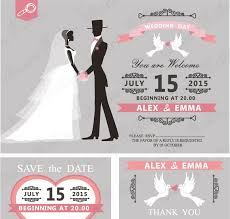 wedding invitations vector retro wedding invitation vector invitation templates creative