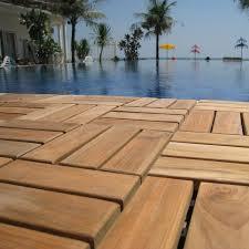 baredecor ez floor wood 12 x 12 interlocking flooring tile trim