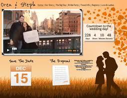 wedding fund websites most creative wedding websites planning basics theknot