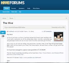 internet archieve forum hivemc com hivemc forums