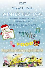 annual winter festival city of la feria tx