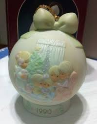 precious moments ornaments and happy on