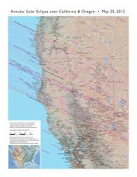 Map Of Oregon Fires by The Urban Astronomer Ring Of Fire Eclipse 2012 In Northern California