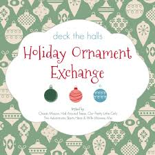 ornament exchange our pretty