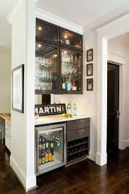 contemporary bar with hardwood floors by terracotta design build