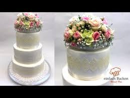 hochzeitstorte selber backen einfach edle hochzeitstorte im landhausstil weddingcake vintage i