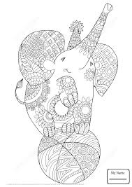coloring pages for kids arts culture zentangle snow lion zentangle