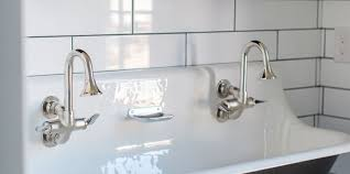sink double trough sinks for bathrooms room design ideas amazing