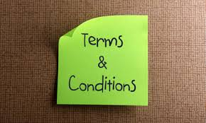 Terms Conditions Terms And Conditions Driving Lesson Terms And Conditions