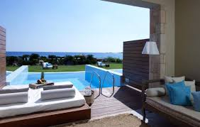 luxurious hotel with pool in room that you have to see home