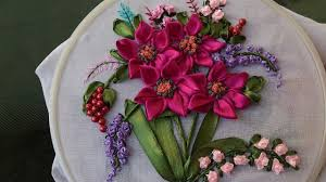 embroidery designs ribbon embroidery stitches for beginners