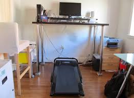 Walking Desk Treadmill Fantastic Building A Diy Walking Desk With A 200 Treadmill
