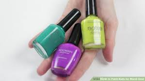 mardi gras nail how to paint nails for mardi gras 8 steps with pictures
