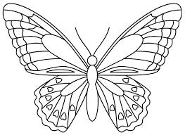 Dessins de papillons à colorier