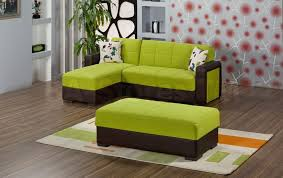 Green Leather Sectional Sofa Apple Green Sofa 1025theparty