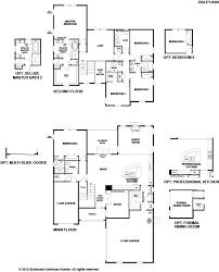 richmond american homes floor plans new homes in jacksonville fl home builders in riverton estates