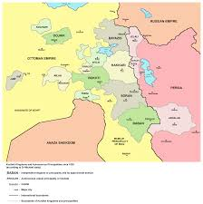 Middle East Map Capitals by Kurdistan Wikipedia