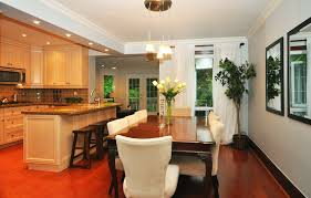 dining room and kitchen combined ideas kitchen and dining room completure co