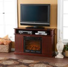 Rustic Electric Fireplace Electric Fireplace Media Center Interior Design
