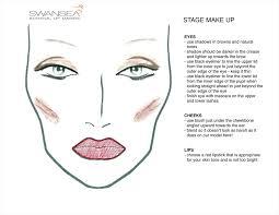 theatrical makeup school stage makeup swansea school of