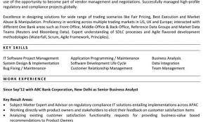 sample resume for senior business analyst agile business analyst resume ba roles and responsibilities