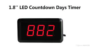 1 8 high 3 digits countdown count up days led countdown timer