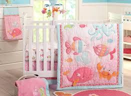 girls nautical bedding amazon com carter u0027s sea collection 4 piece crib set pink blue
