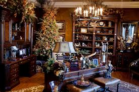 christmas home decor decking the home office for christmas hooker furniture