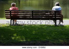 bench berlin pensioners on a park bench berlin stock photo 49101719 alamy