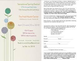 Stockley Gardens Art Festival Sensational Spring Arts U0026 Craft Show And Annual Herb Show