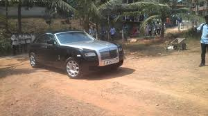 bentley kerala rolls royce ghost of boby chemannnur in perumbavoor kerala youtube