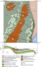 negev desert map geological map of the judean desert and eastern part of the judean