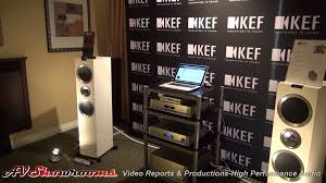 kef ls50 for home theater kef loudspeakers the home entertainment show 2014 newport beach