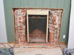 fireplace top remove brick fireplace best home design cool with