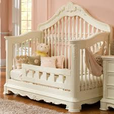 Cribs Convert To Toddler Bed by Creations Venezia Collection Convertible Crib In Vanilla