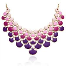 purple fashion jewelry necklace images Best statement necklaces fashion statement necklaces chunky jpg