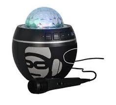 karaoke machine with disco lights idance bb10 disco lights bluetooth karaoke machine speaker black